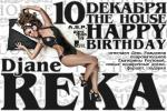 Djane REKA HAPPY BIRTHDAY